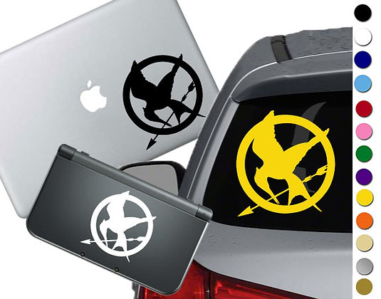 "Sale! 1.5"" Mocking Jay -Mini Vinyl Decal Sticker For cars, laptops, and more!"