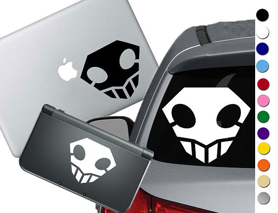 Bleach - Soul Society - Vinyl Decal Sticker For cars, laptops, and more!