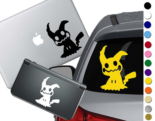Pokemon - Mimikyu - Vinyl Decal Sticker For cars, laptops, and more!