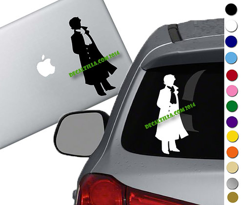 Sherlock - Vinyl Decal Sticker - For cars, laptops and more!