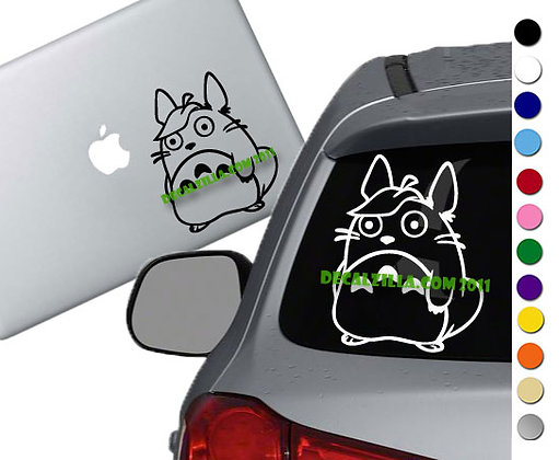 Sale! Totoro Leaf -Vinyl Decal Sticker For cars, laptops, and more!