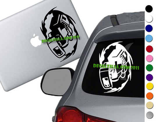 Portal - Glados - Vinyl Decal Sticker - For cars, laptops and more!