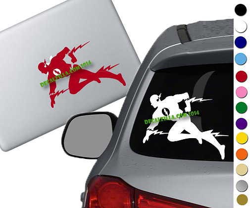 The Flash- Vinyl Decal Sticker - For cars, laptops, and more!