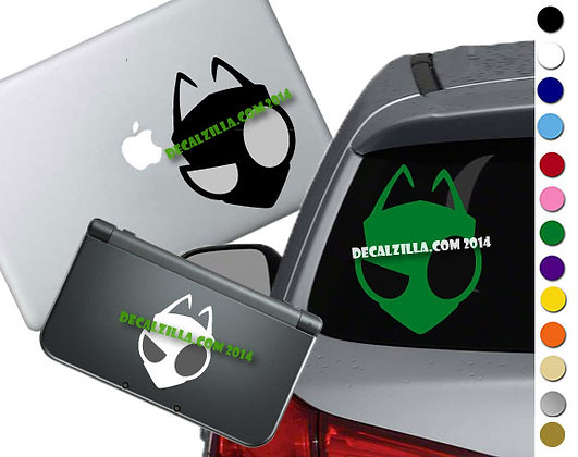 Invader Zim - Vinyl Decal Sticker For cars, laptops, and more!