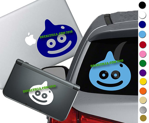 Dragon Quest - Slime - Vinyl Decal Sticker For cars, laptops, and more!