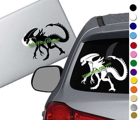Alien Xenomorph - Vinyl Decal Sticker - For cars, laptops and more!