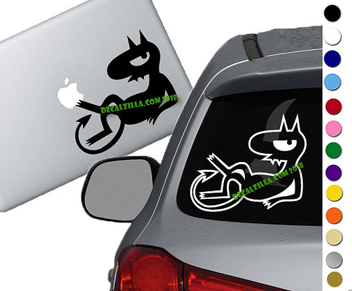Disenchantment - Luci - Vinyl Decal Sticker - For cars, laptops and more!
