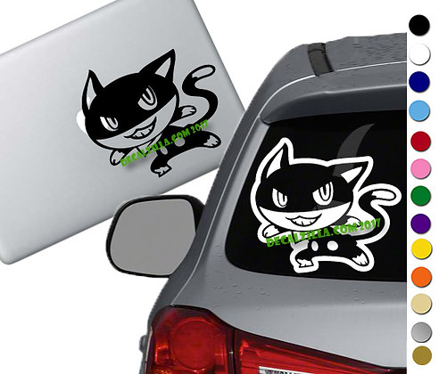 Persona 5 - Morgana - Vinyl Decal Sticker - For cars, laptops, and more!
