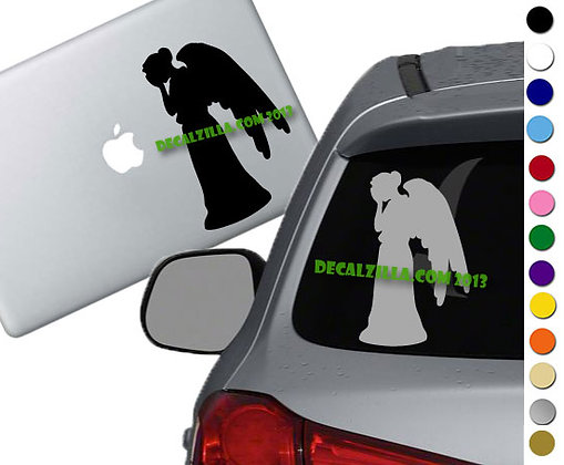 Dr. Who - Weeping Angel - Vinyl Decal Sticker - For cars, laptops and more!