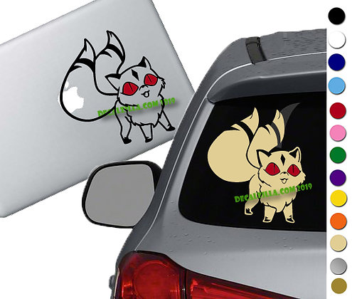 Inuyaha- Kirara Red Eyes - Vinyl Decal Sticker - For cars, laptops and more!