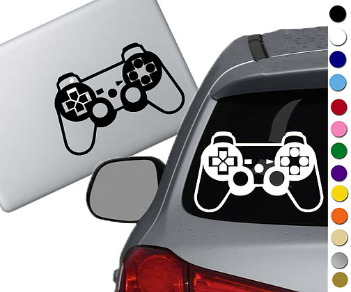 Sale! Playstation Controller -Vinyl Decal Sticker For cars, laptops, and more!