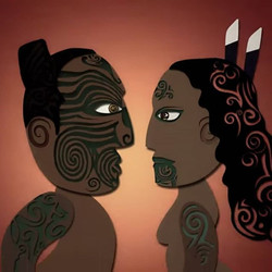 Waiata title design. Maori Television
