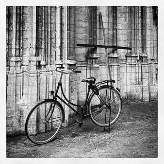 Church,bicycle