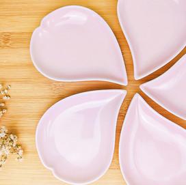 Sakura bean plate set.jpg