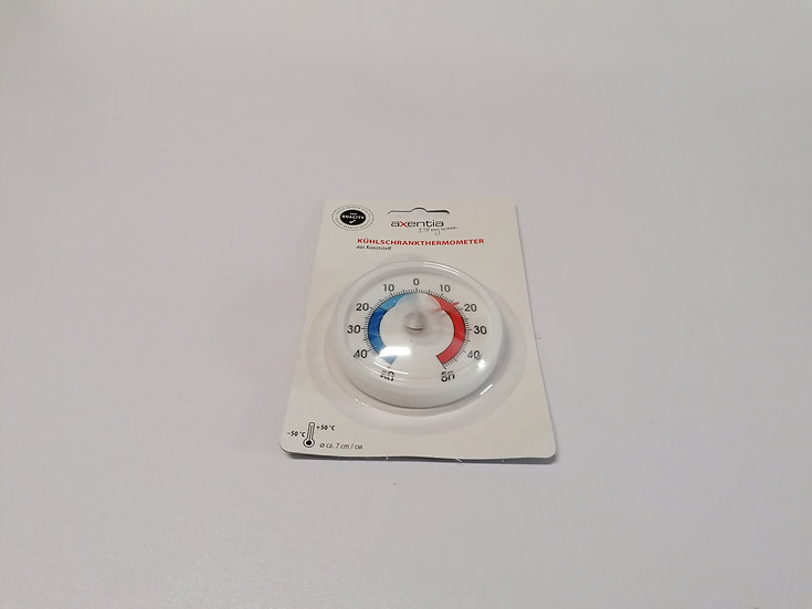 Thermometer für Kühl- und Gefrierschrank rund