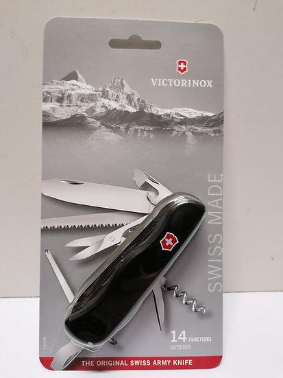 Taschenmesser Victorinox schwarz mit 14 Funktionen