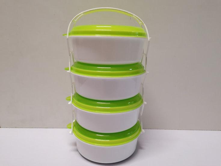 Speisebehälter / Speiseträger aus Kunststoff 4-teilig