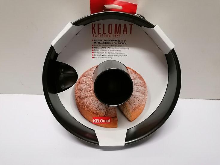 Kelomat Springform mit Flachboden und Rohrboden