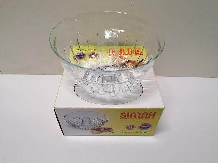 Gugelhupfform aus Glas