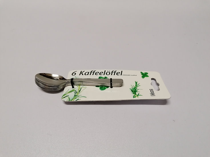 Kaffeelöffel 6 - teilig