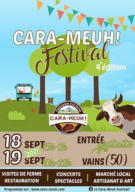 Affiche 4e Cara-Meuh Festival - 18 & 19 septembre 2021 - BD.jpg