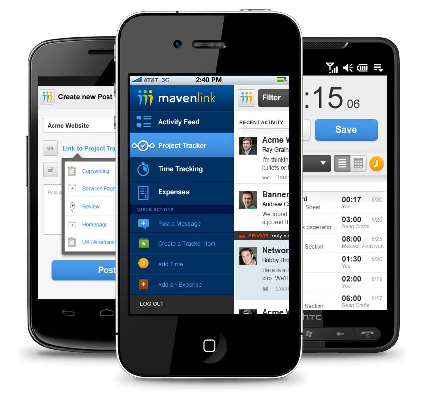 Mavenlink IPhone App
