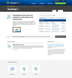 Mavenlink Website