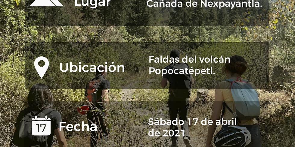 Cañada de Nexpayantla en el Popocátelptl