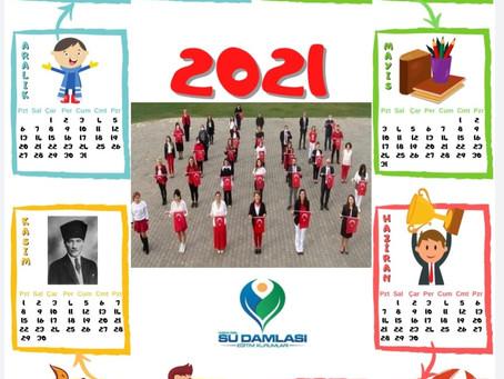 2021 YILI TAKVİMLERİMİZ