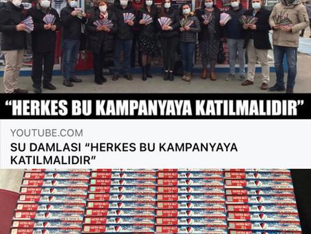 SU DAMLASI KOLEJİ'NDEN DÜZCESPOR'A DESTEK