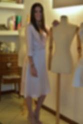 Robe SCALA paillettes et soie