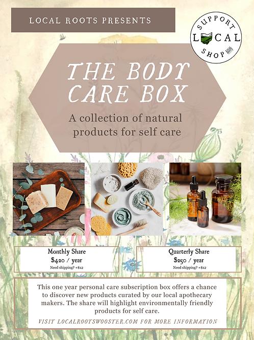 The Body Care Box (Annual Subscription)