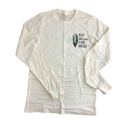 Eat, Shop, Support Local Long Sleeve