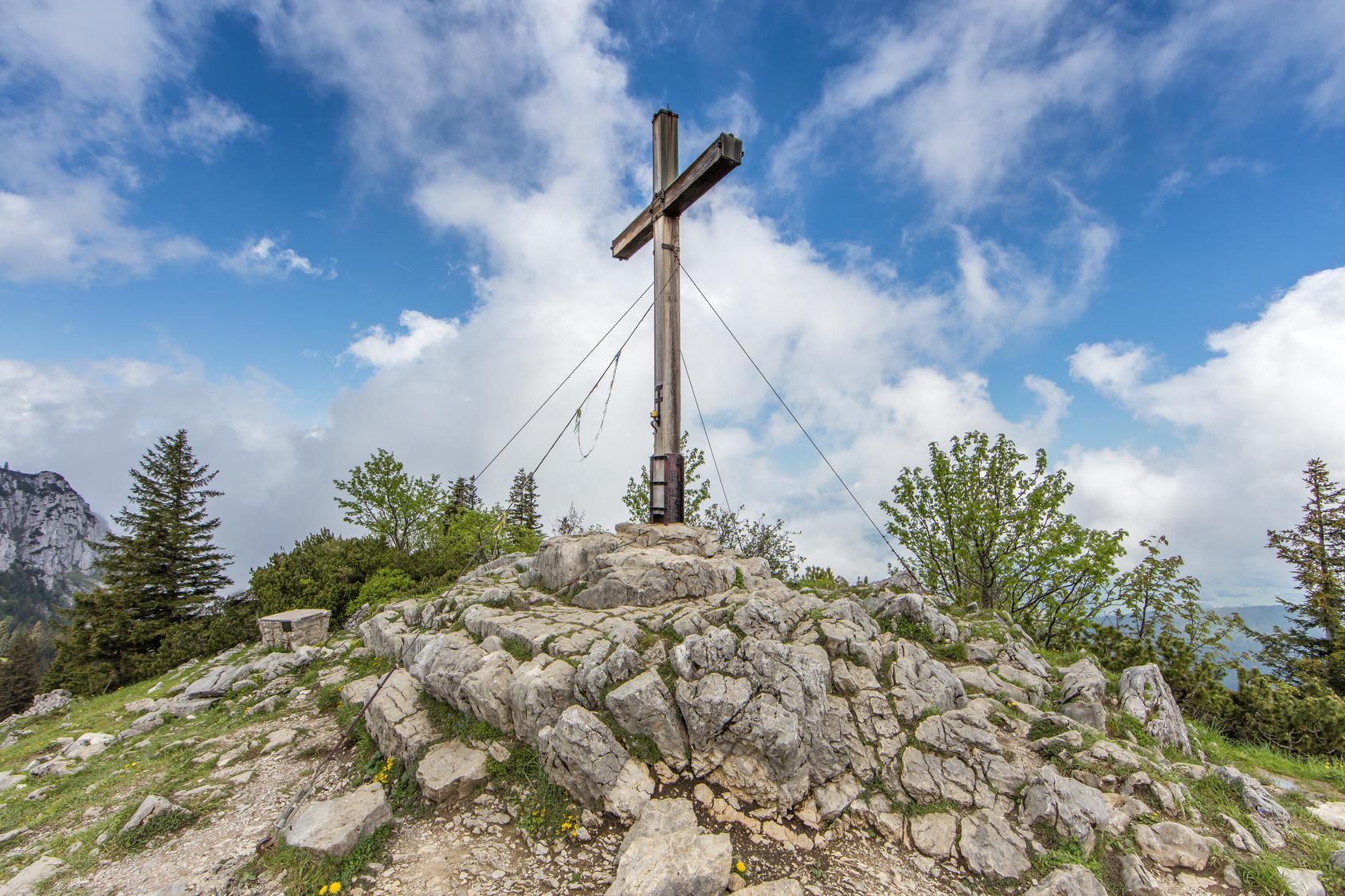 Gipfelerlebnis an der Kampenwand