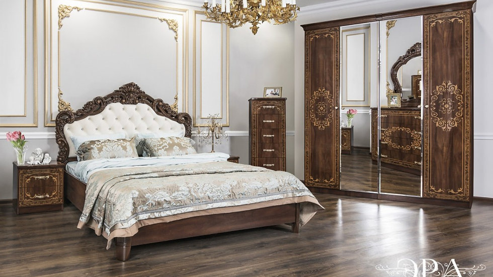 """Мебель для спальни """"ПАТРИСИЯ"""" /караваджо глянец/"""