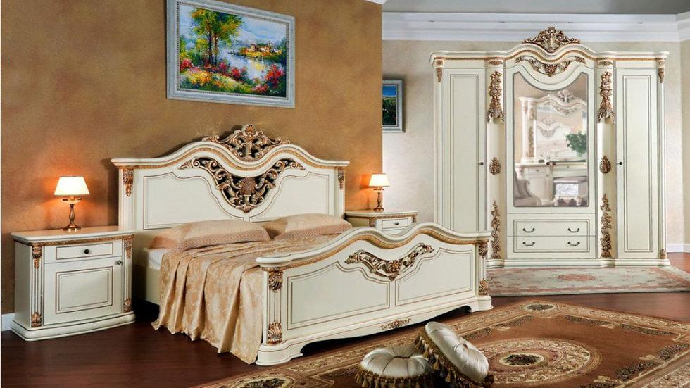 """Мебель для спальни """"ГАБРИЭЛЛА"""" /крем глянец/"""