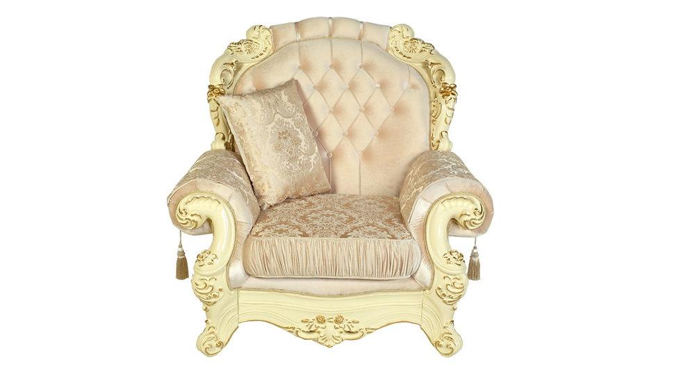 """Кресло """"АДЕЛИНА"""" /люкс крем/"""
