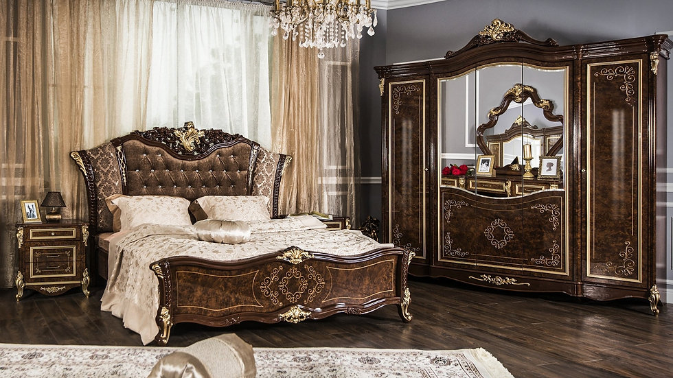 "Мебель для спальни ""ОЛИВИЯ"" /дуб глянец/"