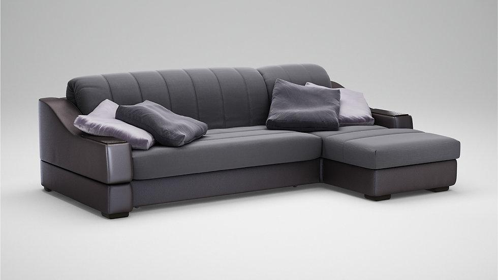 """Модульный угловой диван-кровать """"MOON 016"""""""