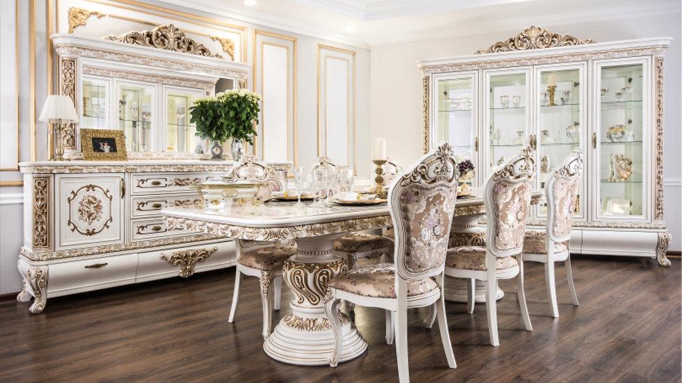 """Мебель для гостиной """"АЛСУ"""" /белая/"""