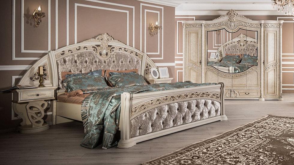 "Мебель для спальни ""ШАХ"" /крем корень/"