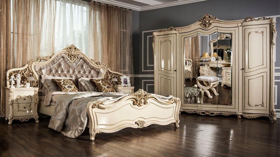 """Мебель для спальни """"ДЖОКОНДА"""" /крем глянец/"""