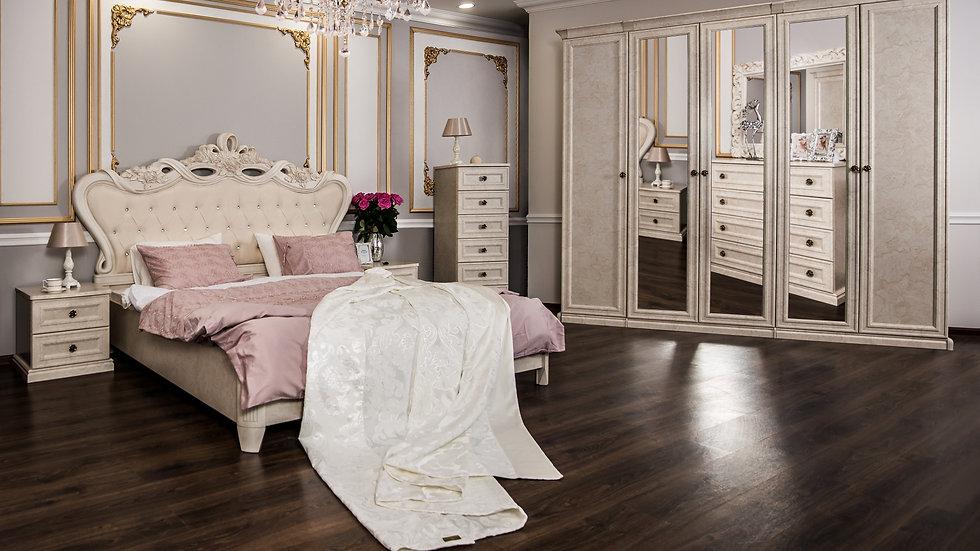 """Мебель для спальни """"АФИНА"""" /крем корень/"""