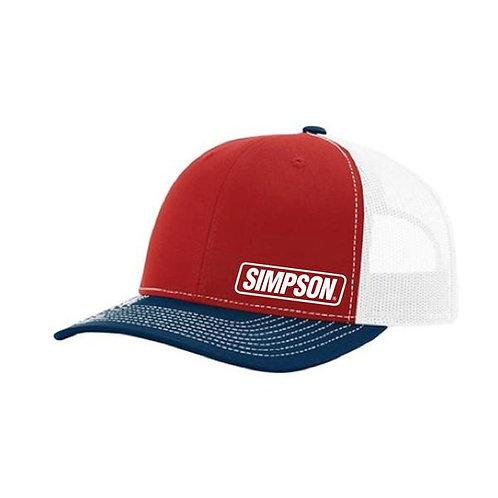 Simpson Racing Snap Back hat
