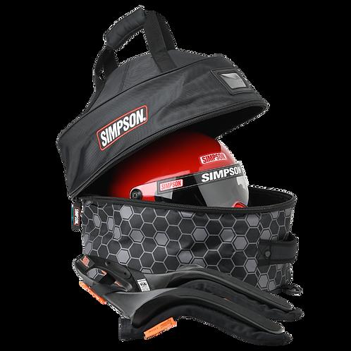 Simpson Racing Helmet and FHR Bag