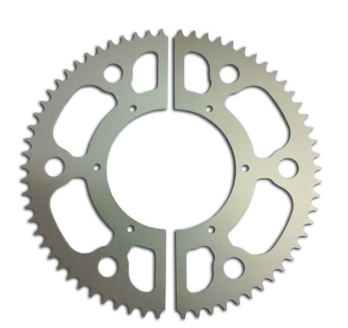 66 Tooth Split Rear Sprocket for #415 Chain