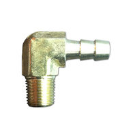 90 Degree Hose Barb Fitting 1/4 inch