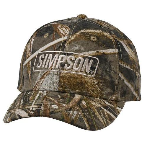 SIMPSON RACING CAMO MAX HAT