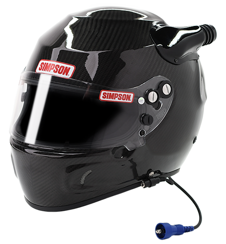 SA2020 SIMPSON RACING CARBON DESERT DEVIL RACING HELMET