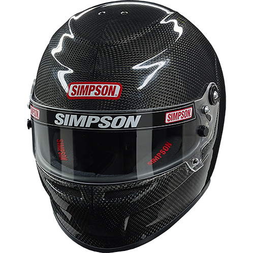 SA2020 SIMPSON RACING CARBON VENATOR HELMET